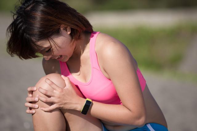 足の痛みの画像